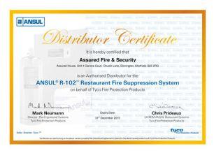 Ansul distributor certificate altavistaventures Choice Image