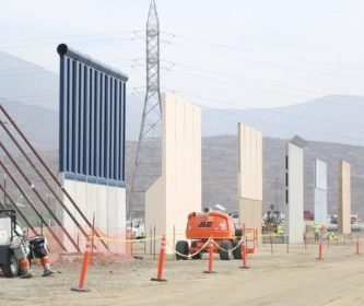 Trump's Metal Fence Coyote Barrier. Trump-wall-e1508753111121