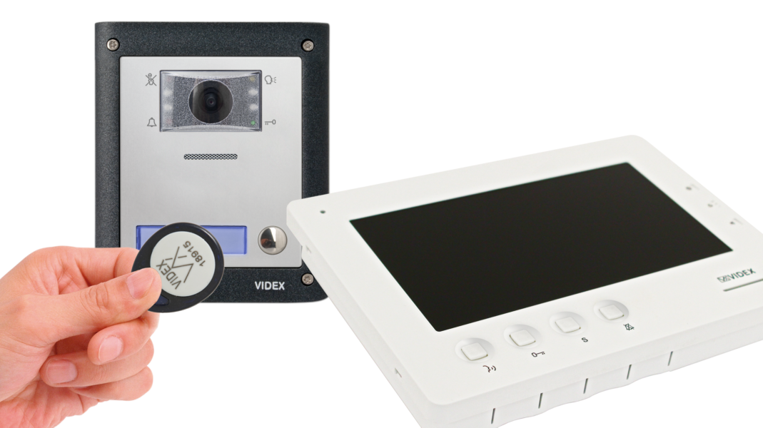 Videx Launches Two Wire Video Entry System